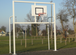 Réf. HE010021 : But foot hand basket, scellement direct