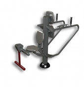 Fitness Réf. M0315-F : Trio Dips-Gainage / Quadriseat (musculation)